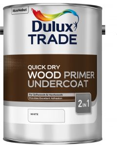 Dulux Trade Quick Drying Wood Primer Undercoat 5L