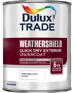 Dulux Trade Weathershield Quick Drying Exterior Undercoat 1L