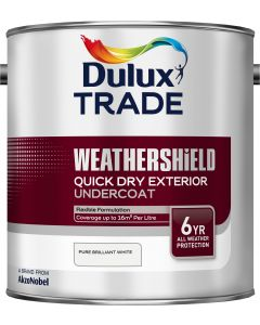 Dulux Trade Weathershield Quick Drying Exterior Undercoat 2.5L