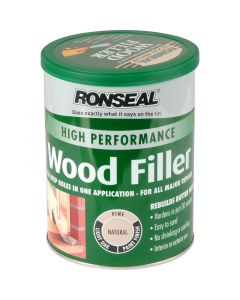 RONSEAL 2 PART WOOD FILLER NATURAL 1KG