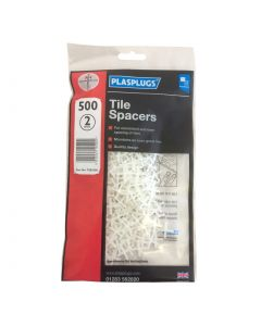 PLASPLUGS TILE SPACERS 2MM (PACK 500)