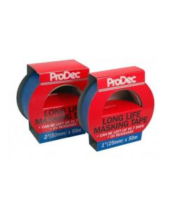 "PRODEC LONG LIFE MASKING TAPE BLUE 1""   PLLMT25"
