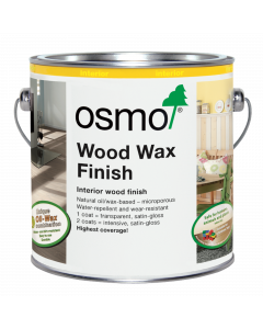 Osmo 3111A Wood Wax Finish White 0.125L