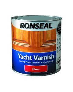 RONSEAL YACHT VARNISH CLEAR GLOSS 1L