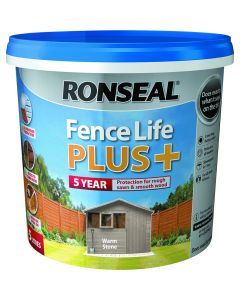 RONSEAL  FENCELIFE PLUS  WARM STONE  5LTR