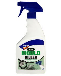 POLYCELL 3 IN 1 MOULD KILLER TRIGGER 500ML