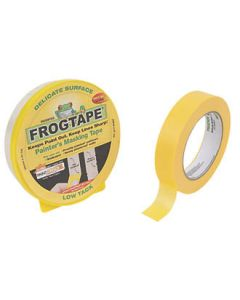 FROGTAPE LOW TACK MASKING TAPE 24MM X 41.1MTR