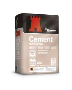 HANSON 25KG GENERAL PURPOSE OPC CEMENT PAPER BAG CEMII 32.5R