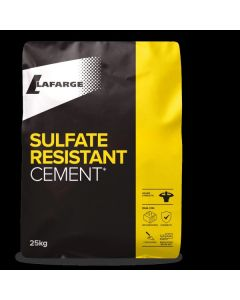 LAFARGE 25KG SULPHATE RESISTING CEMENT