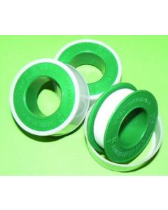 PTFE TAPE (WHITE ROLL) 12MMX12M (WRAS APPROVED)