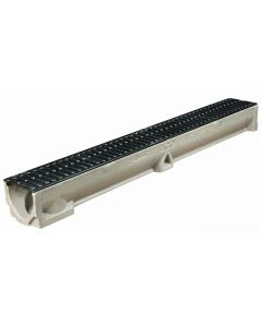 RainDrain B 125 Channel with Cast Iron Grating