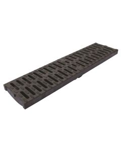 ACO MULTIDRAIN M100D GRATING COMPOSITE BLACK 132720 HEELGUARD 500MM C250 ( 12680 )