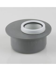 110MM X 50MM SOIL TO WASTE REDUCER GREY  BS441