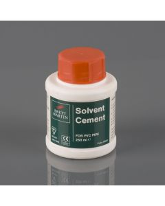 SOLVENT CEMENT 250ML FOR SOIL AND WASTE B9021