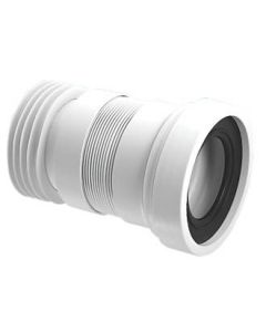 MCALPINE FLEXIBLE PAN CONNECTOR 160MM WC-F18R