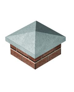 "PIER CAP FOUR WAY 305 X 305MM (12x12"")"""