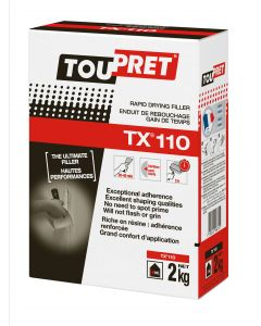 TOUPRET TX110 RAPID DRYING FILLER BOX 2KG