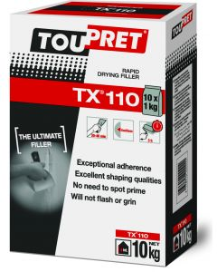 TOUPRET EXPERT TX110 RAPID DRYING FILLER 10KG (10 x 1KG BAGS)