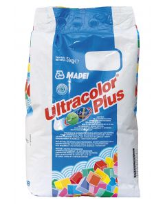 MAPEI ULTRACOLOUR PLUS 100 GROUT 5KG WHITE