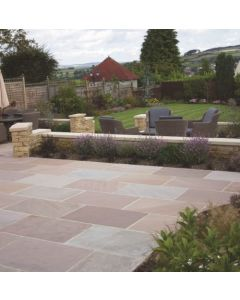 LAKELAND SANDSTONE CALIBRATED 24MM PROJECT PACK 18.9M2 (4 SIZES 600 GUAGE) NATURAL STONE SLAB
