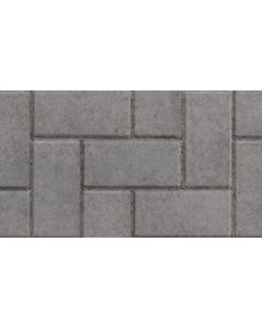 MARSHALLS BLOCK PAVING 200x100x50mm CHARCOAL CBP PACK 488 G1808