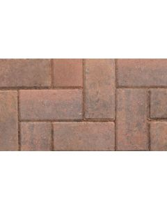 MARSHALLS BLOCK PAVING 200x100x50mm BRINDLE CBP PACK 488 G1667