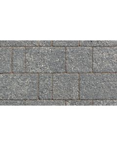 MARSHALLS DRIVESETT ARGENT BLOCK PAVING DARK 50MM PROJ PACK 10.75M2(80X160,160X160,240X160MM)