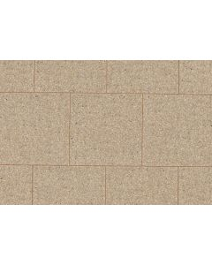 PERFECTA PAVING SLAB 600 x 600 x 50 BUFF SQ.EDGE