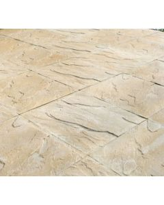 BROADWAY RIVEN SLAB 450 x 450 x 32mm BUFF