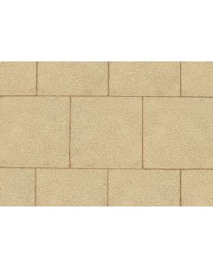 SAXON TEXTURED PAVING SLAB 600x600x35 BUFF B3460
