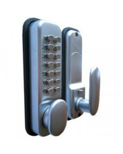 DIGITAL PUSH BUTTON CODE LOCK SATIN CHROME (DIGI LOCK) 81077 M2351