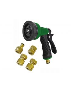 FAITHFULL 5PC GARDEN HOSE SPRAY KIT FAIHOSEGSK5