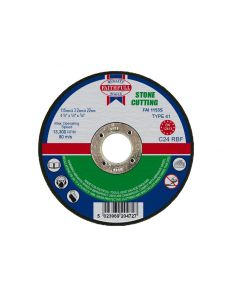FAITHFULL STONE CUTTING DISC 115MMX3.2MM (41/2) FAI1153S""