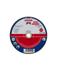 FAITHFULL METAL GRINDING DISC 230MM (9) FAI2306MDG""