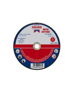 "FAITHFULL METAL CUTTING DISC 230MMX3.2MM (9"")"