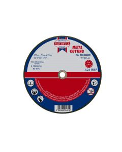 FAITHFULL METAL CUTTING DISC 300MM (12) FAI3003522M""