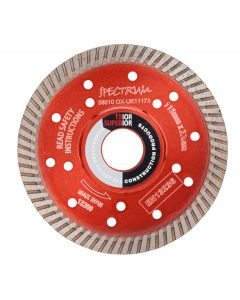 SPECTRUM SUPERIOR DIAMOND DISC 41/2 TX10R 115/22 TX10R-115/22