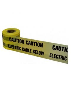 WATER PIPE BELOW WARNING TAPE 150mm x 365m