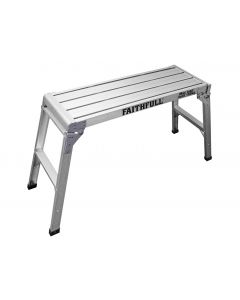 FAITHFULL ALUMINIUM FOLD AWAY STEP UP L100 X H55 X W30 (FAISTEPUP3)