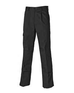 DICKIES R/HAWK SUPER TROUSERS BLACK SIZE 32R