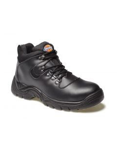 DICKIES FURY SAFETY BOOT S3 BLACK SIZE 8 FA23380