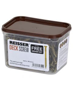 REISSER DECKING SCREWS 4.8 * 70 (TUB-200)