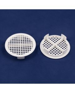 CIRCULAR PUSH IN SOFFIT VENT WHITE (1140) FB890