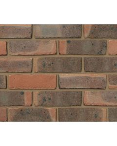 IBSTOCK BEXHILL DARK RED MULTI STOCK FACING BRICKS - PACK OF 500